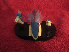 3 Pokemon figure: feurigel-Línea (Cyndaquil, Quilava, Typhlosion) usado/Zukan/f44