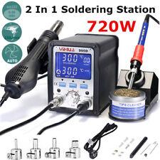 995D Fer à Souder 2 en 1 Air Chaud Station de Soudage numérique SMD 100 - 480°C