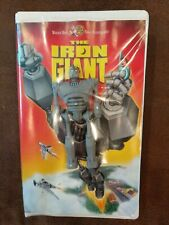 The Iron Giant Vhs With Collectable Figurine