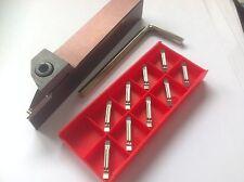 Stechhalter 20x20 (2mm-breit) + MGMN 200-AL K10 Stechplatten NEU! MIT RECHNUNG!!