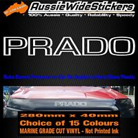 PRADO Bonnet Protector Stickers For LANDCRUISER Turbo Diesel Series