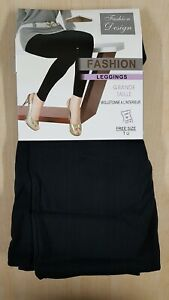 Warm, Thick, Fleecy Lined, Black Leggings Free Size from Wyestyles