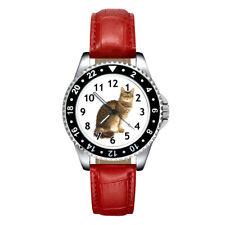 LaPerm Cat Mens Ladies Unisex Casual Leather Strap Quartz Wrist Watch