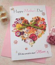 Handmade Personalised Card Large Birthday Mother Aunt Auntie Mum Sister Friend