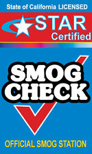 SMOG CHECK - Star Certified 3'x5'  Vinyl Banner Sign