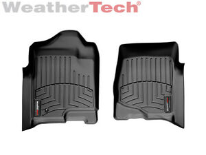 WeatherTech Custom Car/Truck Floor Mat FloorLiner - 440661- 1st Row - Black