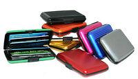 Credit Card Holder Beautiful Aluminium  Wallet Purse Protect Metal Case
