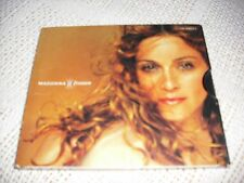 MADONNA rare FROZEN 2 track deleted cd 1998