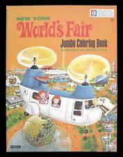 OFFICIAL NEW YORK WORLD's FAIR - JUMBO COLORING BOOK - 1964-1965 - SPERTUS PUBL.