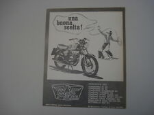 advertising Pubblicità 1969 MOTO MORINI 125 CORSARO