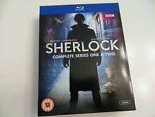 Sherlock: Series 1 and 2 [Blu-ray UK Import - Read Description]