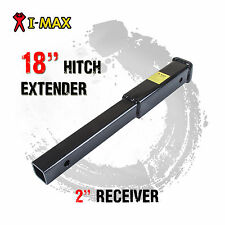 "18"" Inch Hitch Extender Extension Bike Rack Tow Bar Adaptor Trailer 4WD Car 2"""