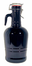 2 Liter Flip Top Growler With Glass Handle