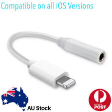 iPhone Lightning To 3.5mm iPhone 7 8 X Earphone AUX Connector Adapter Cable Cord