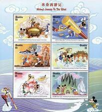 👉 Disney = Gambia 1997 Mickey in China x2 M/S #1 & 2 Mnh