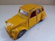 Citroën 2CV 6 - Yellow - Corgi - GT Britain