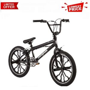 Rebel kids BMX bike, 20-inch mag wheels, ages 7 - 13, black NEW
