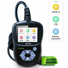 JD316 Support Mode 6 OBD2 Scanner Automotive Car Engine Fault Code Reader CAN