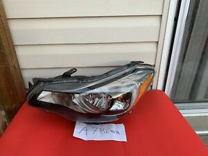 2012-2014 SUBARU IMPREZA CROSSTREK LEFT HEADLIGHT HEAD LIGHT LAMP XENON OEM A786