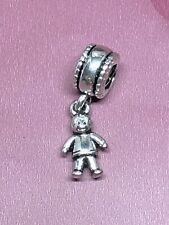 My Little Boy Dangle Charm With Pandora Pop Up Box And Gift Wrap