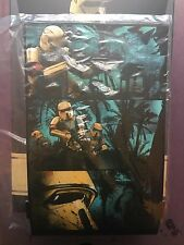 Hot Toys Star Wars Rogue One Shoretrooper Diorama Back Drop loose 1/6th scale