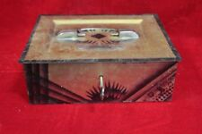 Iron Case Box Old Vintage Antique Home Decor Decorative Collectible PI-16