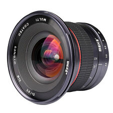 12mm MK-12 F2.8 Manual Wide-angle Lens For Micro Four Thirds 4/3 Mount Panasonic