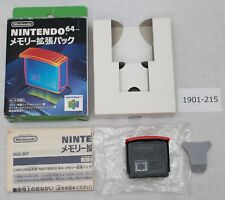 N64 Expansion pack memory Nintendo Official NUS-007 work box boxed