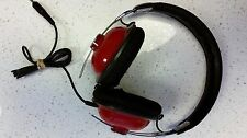 PANASONIC RP-HTX7 OVER EAR HEADPHONES RED