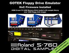 GOTEK Floppy Drive Emulator for ROLAND S-760 750 770 LOADED w/ 1200+ LIBRARY