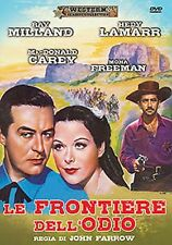 Dvd LE FRONTIERE DELL'ODIO - (1950 )  Western ** A&R Productions **...NUOVO