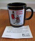 Houze 1987 Hasan Temple Shriner Georgia GA 22K gold COA Give hand nalley vintage
