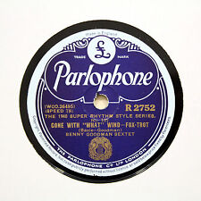 "BENNY GOODMAN SEXTET ""Gone With What Wind"" (E+) PARLOPHONE R-2752 [78 RPM]"