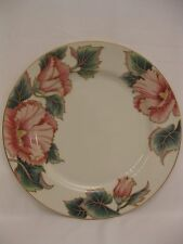 Fitz & Floyd Hummingbird pattern dinner plate - cream color.