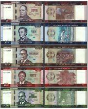 Liberia 2016 year 5+10+20+50+100 Dollars set 5PCS BrandNew Banknotes
