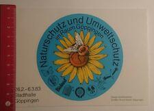 Aufkleber/Sticker: Naturschutz und Umweltschutz Raum Göppingen 83 (24121687)