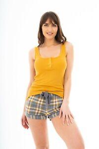 Ladies Ex High Street Pyjamas Set Summer Short Womens Night Wear Loungewear PJs