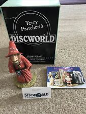 More details for discworld clarecraft dw01 rincewind boxed rare terry pratchett with tent card