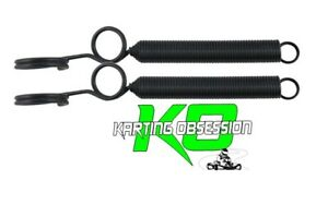 Go Kart Exhaust Quick Release Springs 2pc 90mm Coil Black