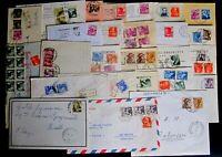 Repubblica -Storia Postale - Michelangiolesca -  Lotto da 50  buste