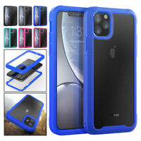For iPhone 12 Pro Max Mini 2020 Shockproof Transaprent Clear Rugged Case Cover
