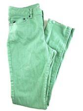Kenneth Cole Green High Rise Slender Leg Women's Jeans 29.  29x32
