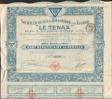 LE TENAX, Boulonnerie & Visserie (ETAMPES 91) (Q)