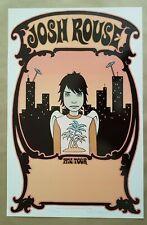 Josh Rouse 1972 Tour Blank / Concert Poster 2003 Art Tara McPherson
