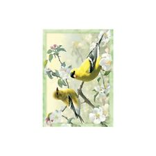 Joseph Hautman Orchard Goldfinch All Occasions Card & Envelope by Tree Free