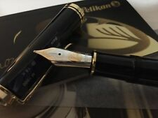 PELIKAN M1000 BLACK FOUNTAIN PEN M Nib