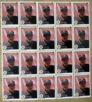Barry Bonds 1990 Upper Deck #227 Pittsburgh Pirates 20ct Card Lot