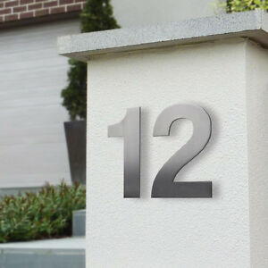Milkcan 150mm Stainless Steel Stud Wall Mount Numbers | MAILBOX House DOOR Fence