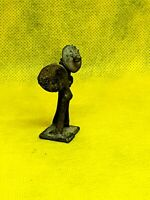 Vintage African BRONZE Brass ASHANTI Akan GOLD WEIGHT Figure 323