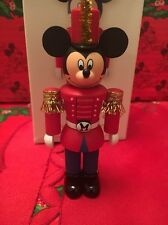 Christmas Disney Hallmark Keepsake Nutcracker Mickey Mouse Ornament New In Box